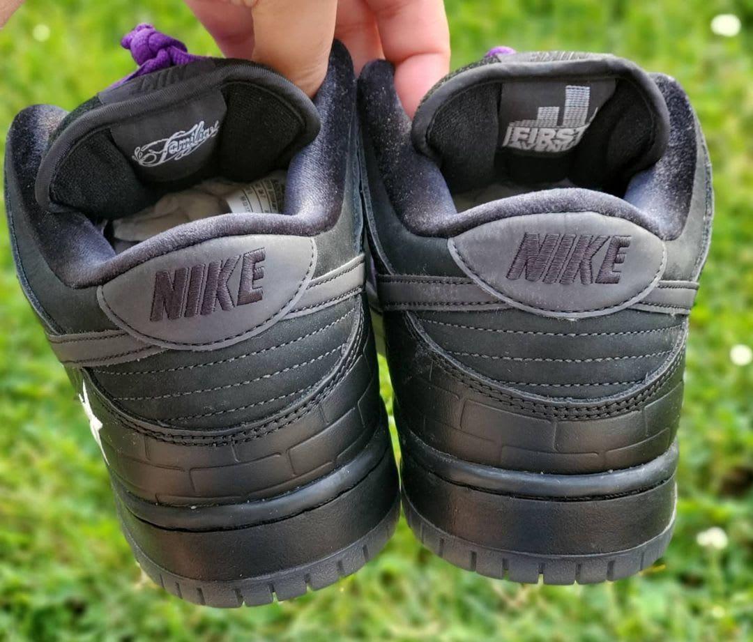 Familia x Nike SB Dunk Low 'First Avenue' Heel