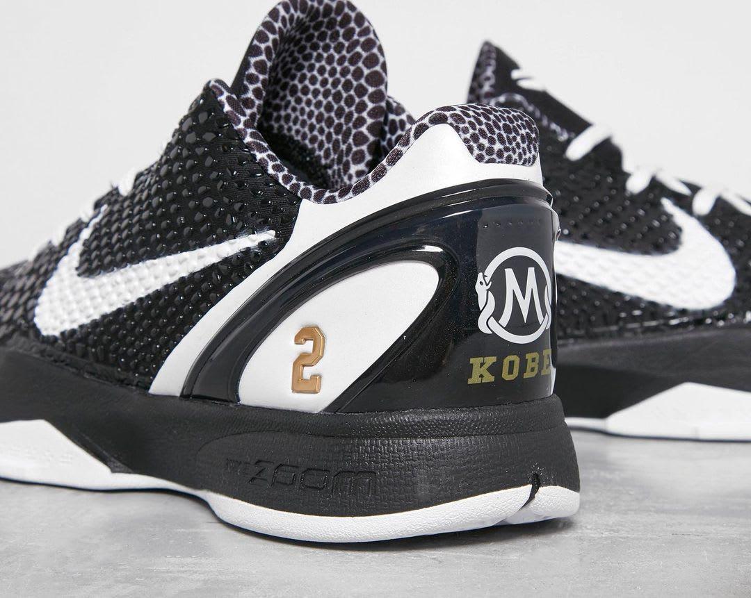 Nike Kobe 6 Protro 'Mamba Forever' Heel