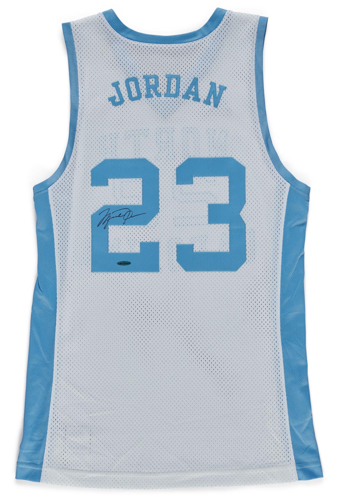 Jordan Brand x Converse 'UNC' Jersey 2012 Sotheby's Auction