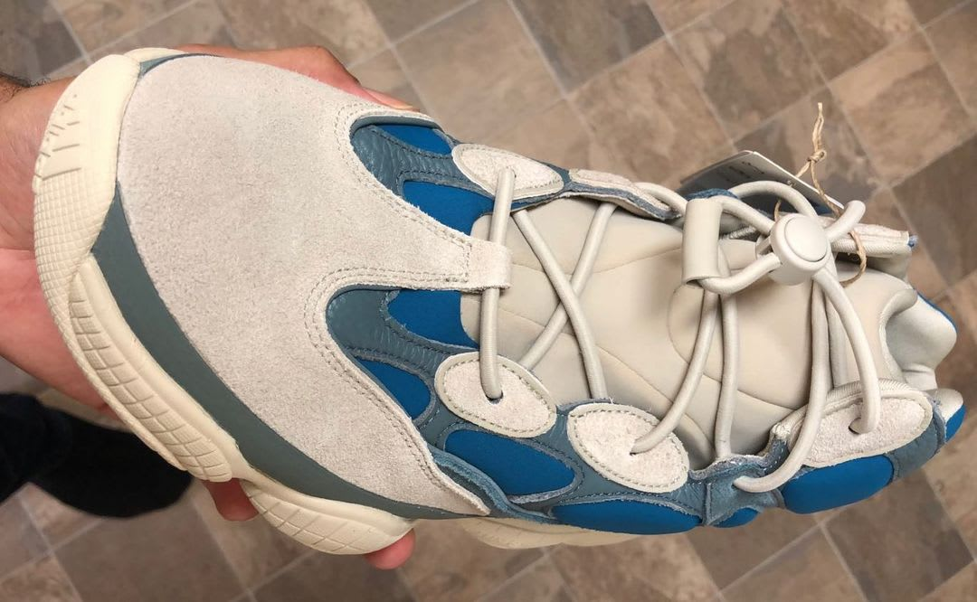 Adidas Yeezy 500 High Frosted Blue Release Date Top