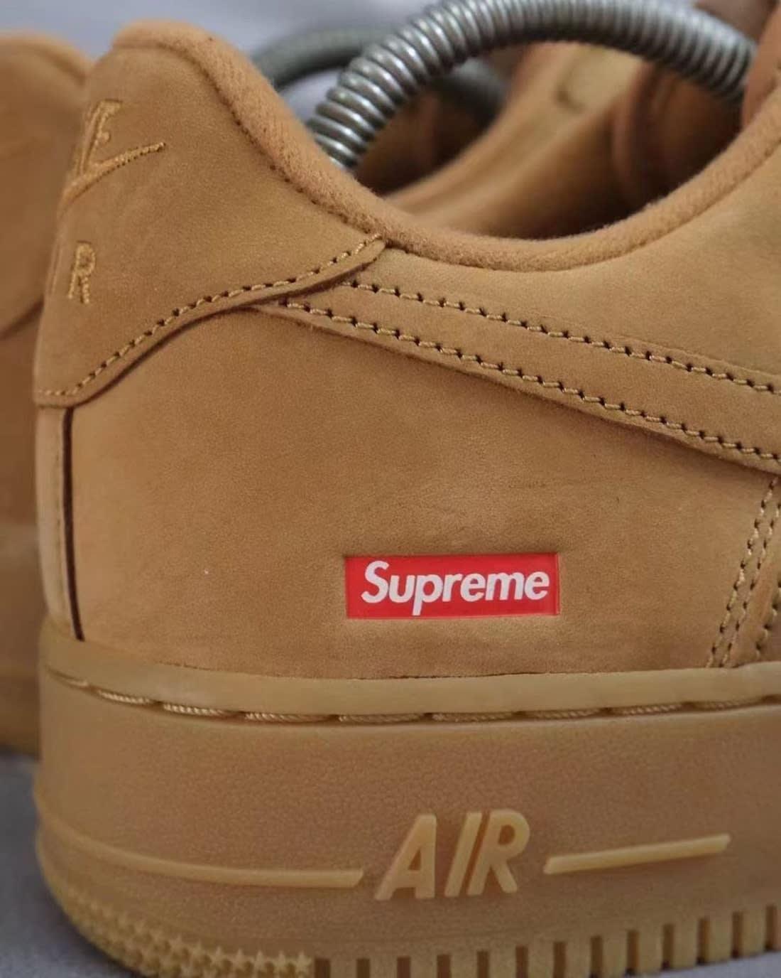 Supreme x Nike Air Force 1 Flax Release Date