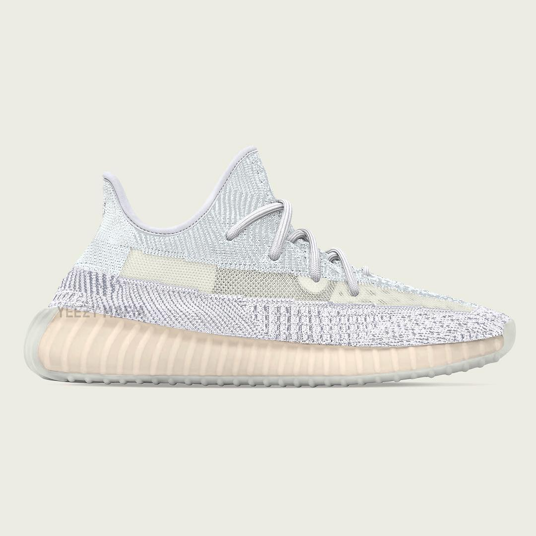 Adidas Yeezy Boost 350 V2 Cloud White Release Date FW3042