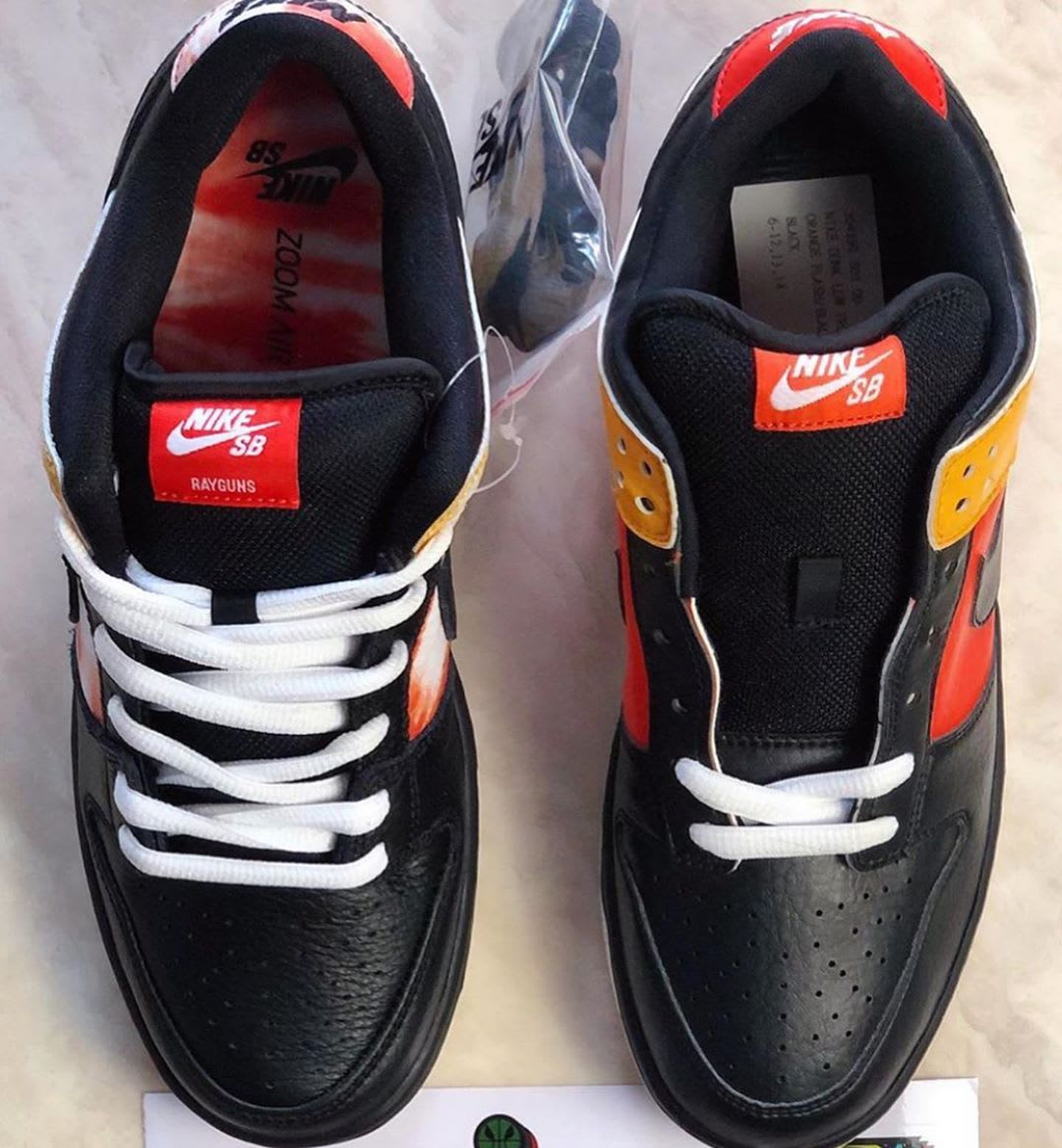Nike SB Dunk Low 'Raygun Tie Dye' BQ6832-001 (Top)