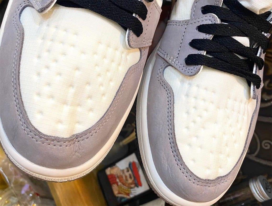Air Jordan 1 Element Gore-Tex Light Bone Release Date DB2889-100 Toe