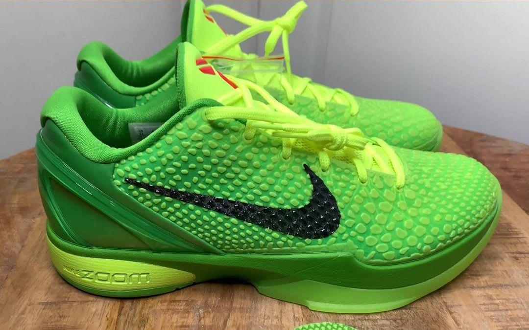 Nike Kobe 6 Protro 'Grinch' CW2190-300 Lateral
