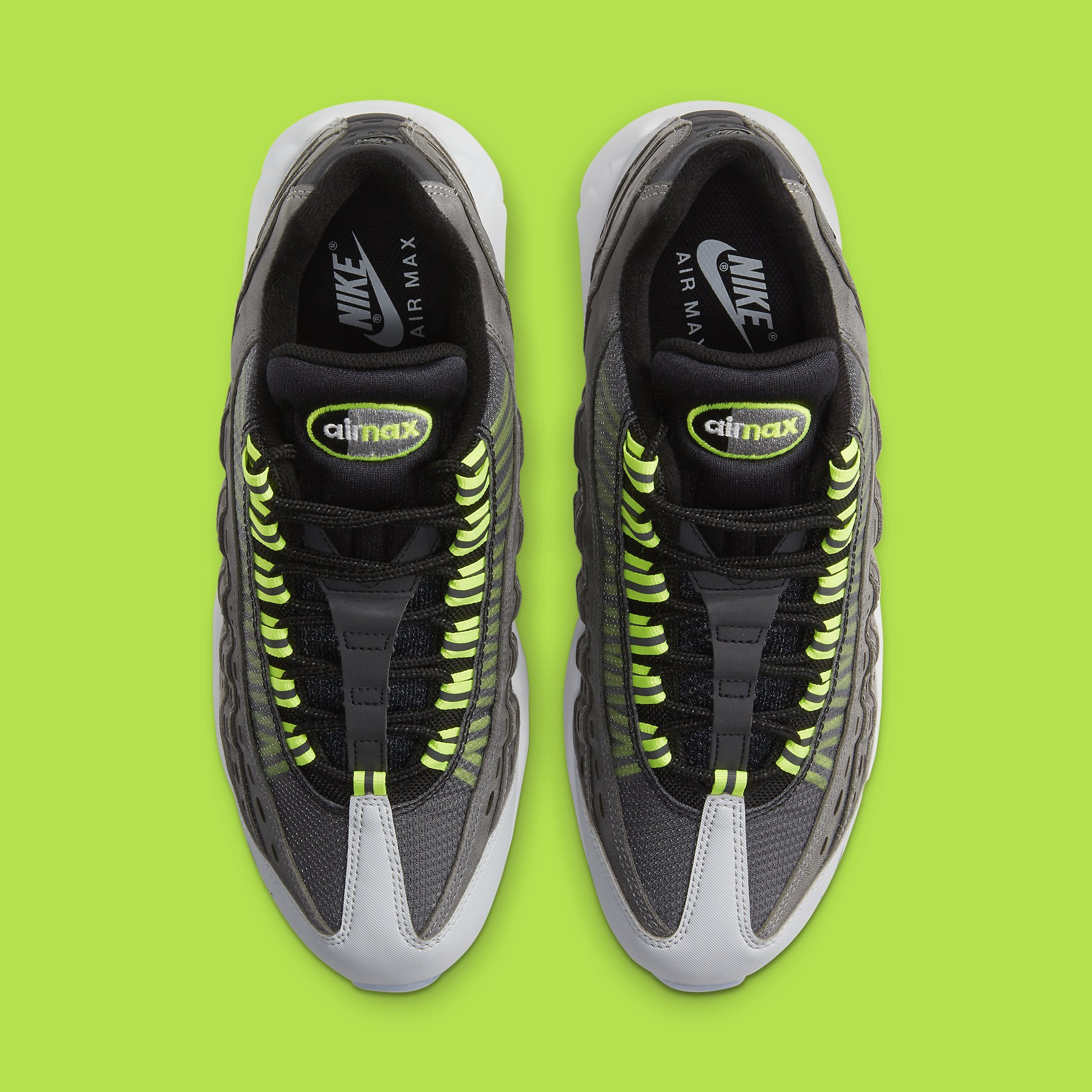 Kim Jones x Nike Air Max 95 Volt Release Date DD1871-002 Top