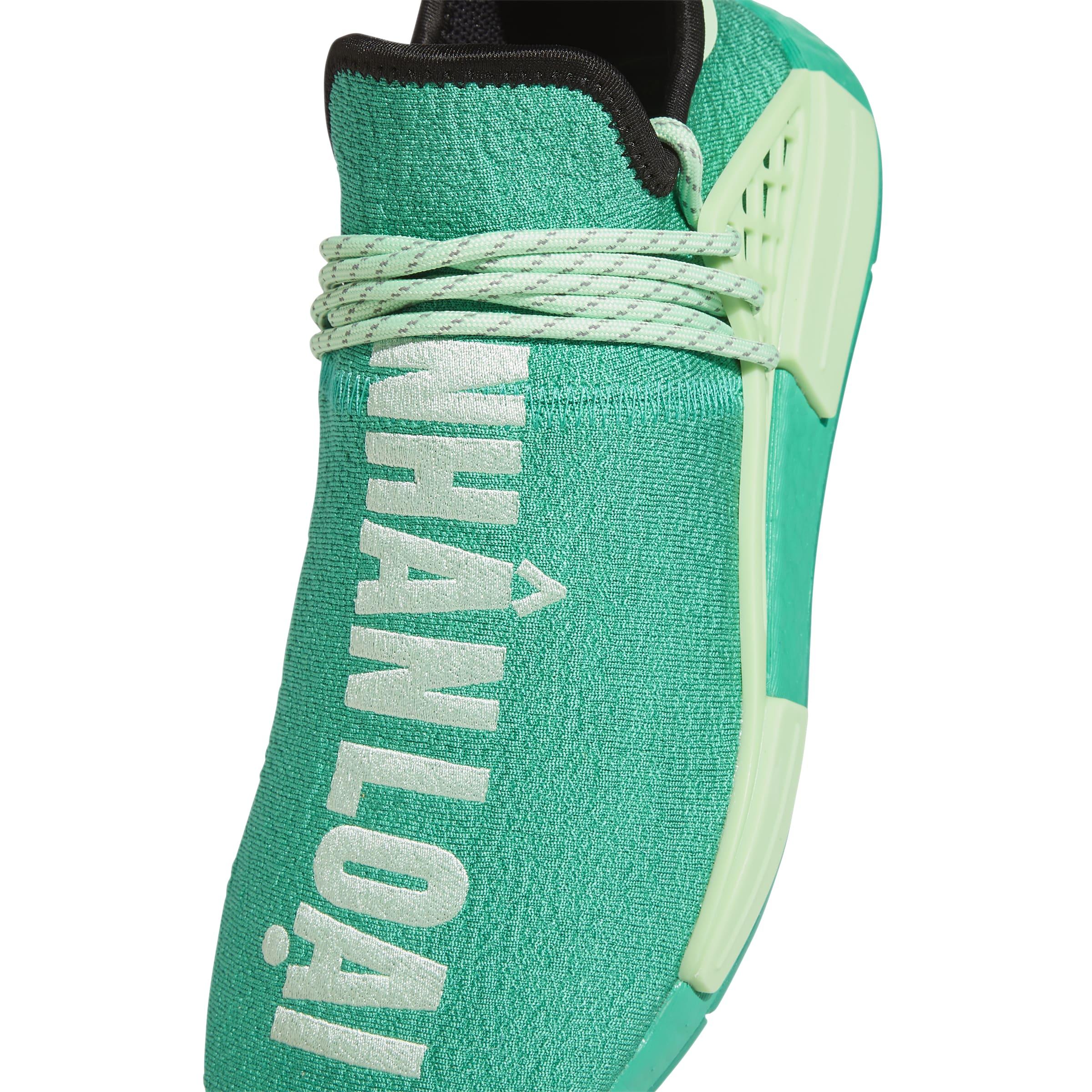 Pharrell x Adidas NMD Hu 'Green' FY0089 Top