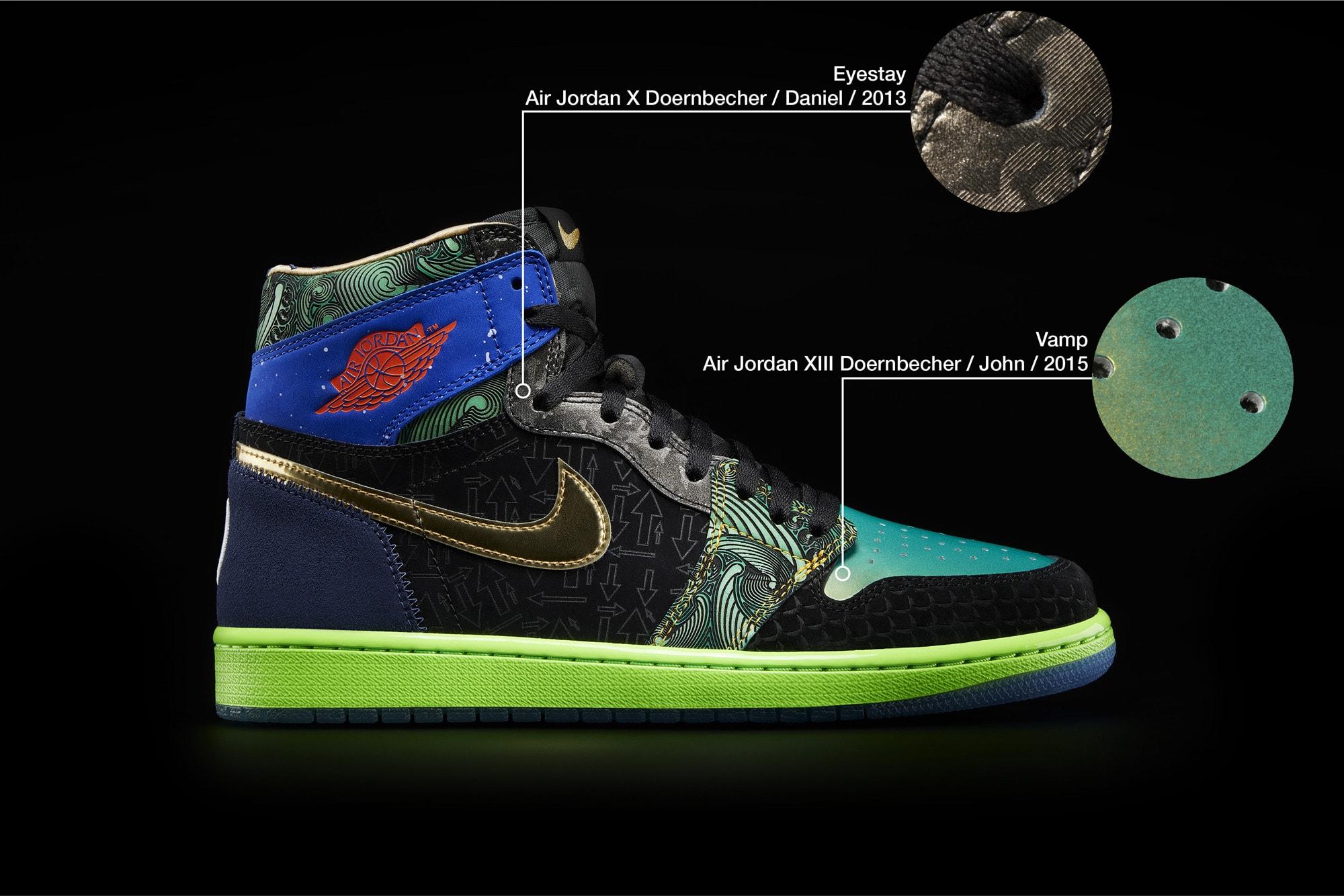 What The Air Jordan 1 Doernbecher Right Medial