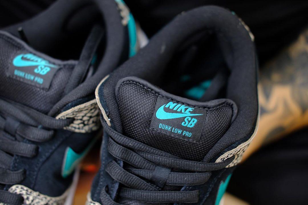 Nike SB Dunk Low 'Atmos Elephant' BQ6817-009 Tongue