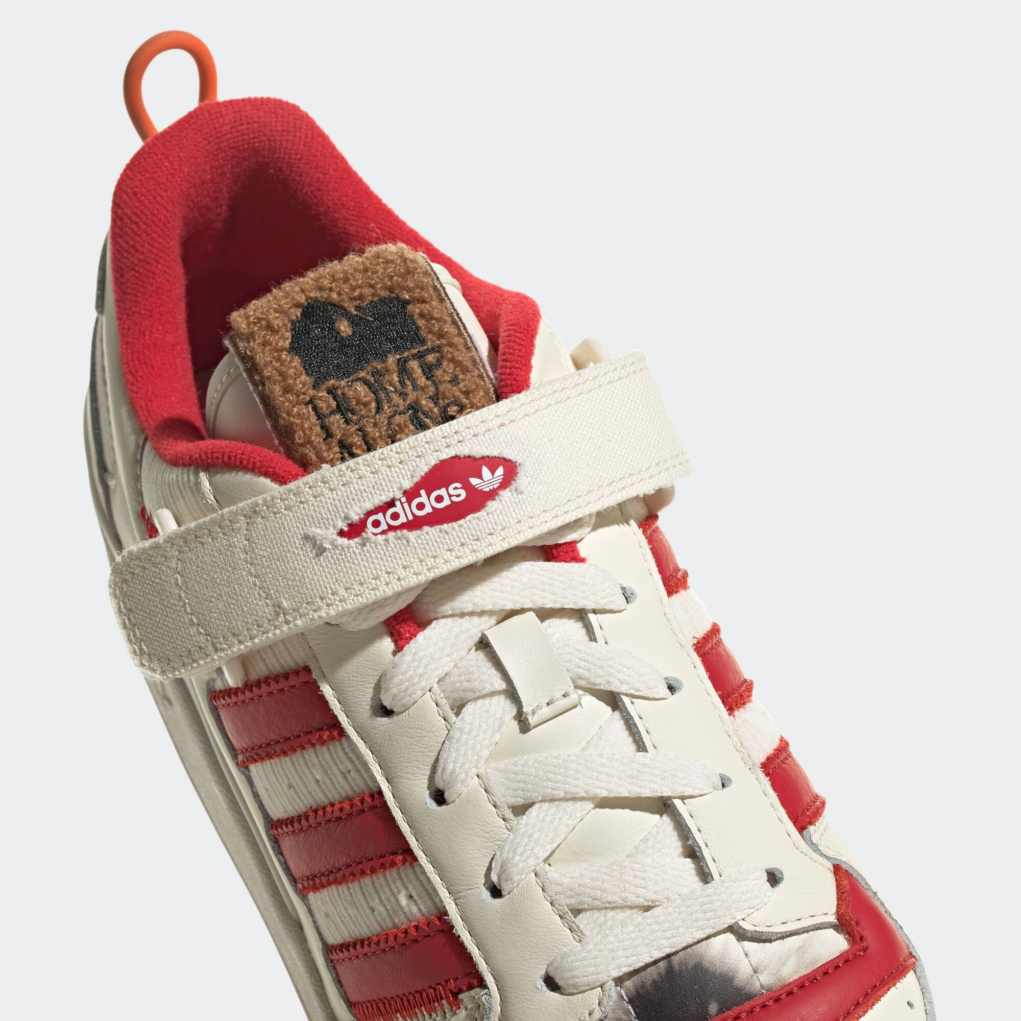 Home Alone x Adidas Forum Low GZ4378 Tongue