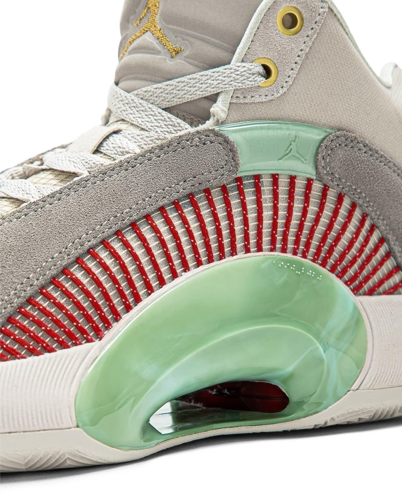 CLOT x Air Jordan 35 XXXV Release Date DD9322-200 Side Detail