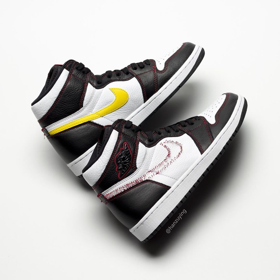 good quality excellent quality closer at Air Jordan 1 Defiant Dynamic Yellow Release date CD6579-071 ...