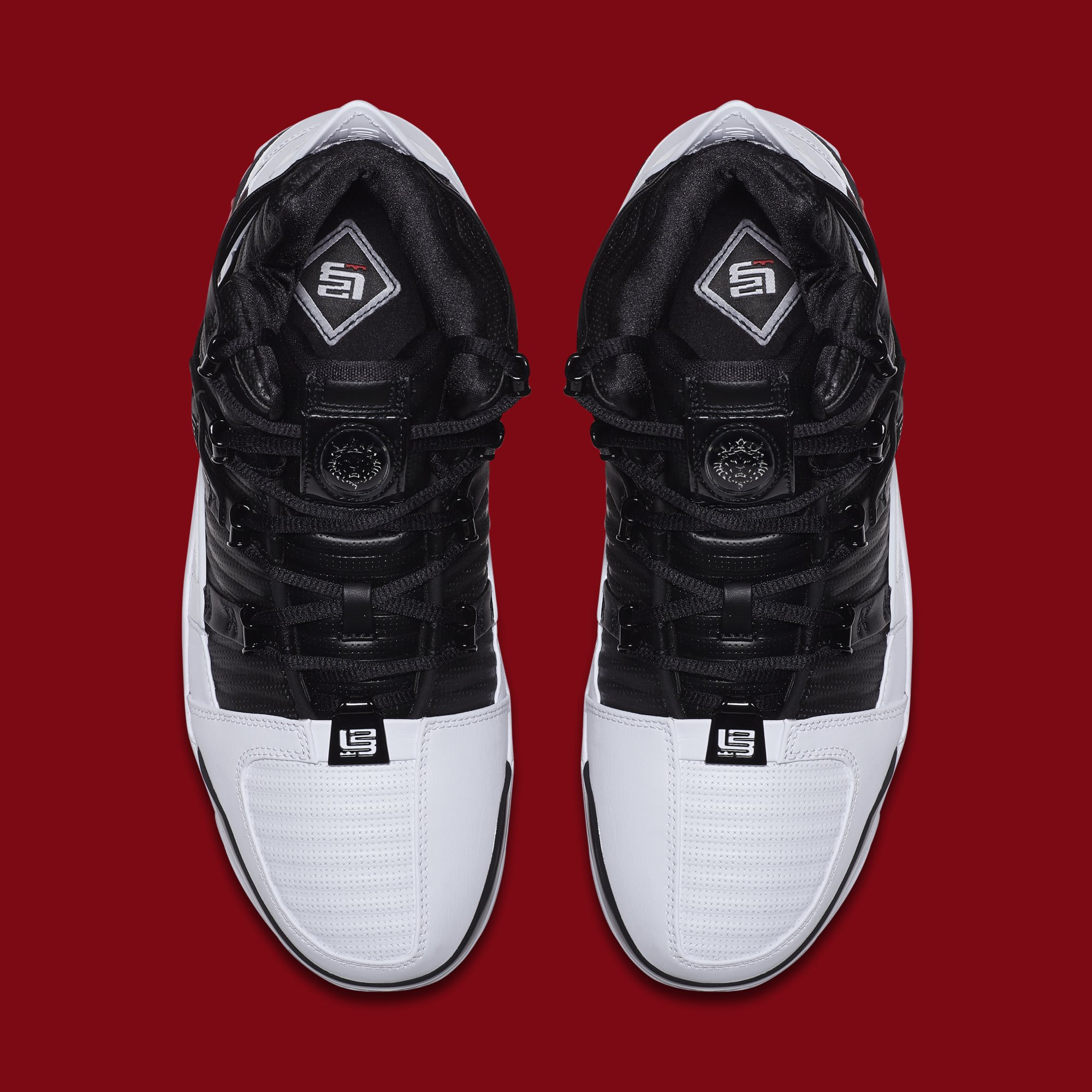quality design 30f72 efbc0 Image via Nike Nike Zoom LeBron 3  Home  AO2434-101 (Top)