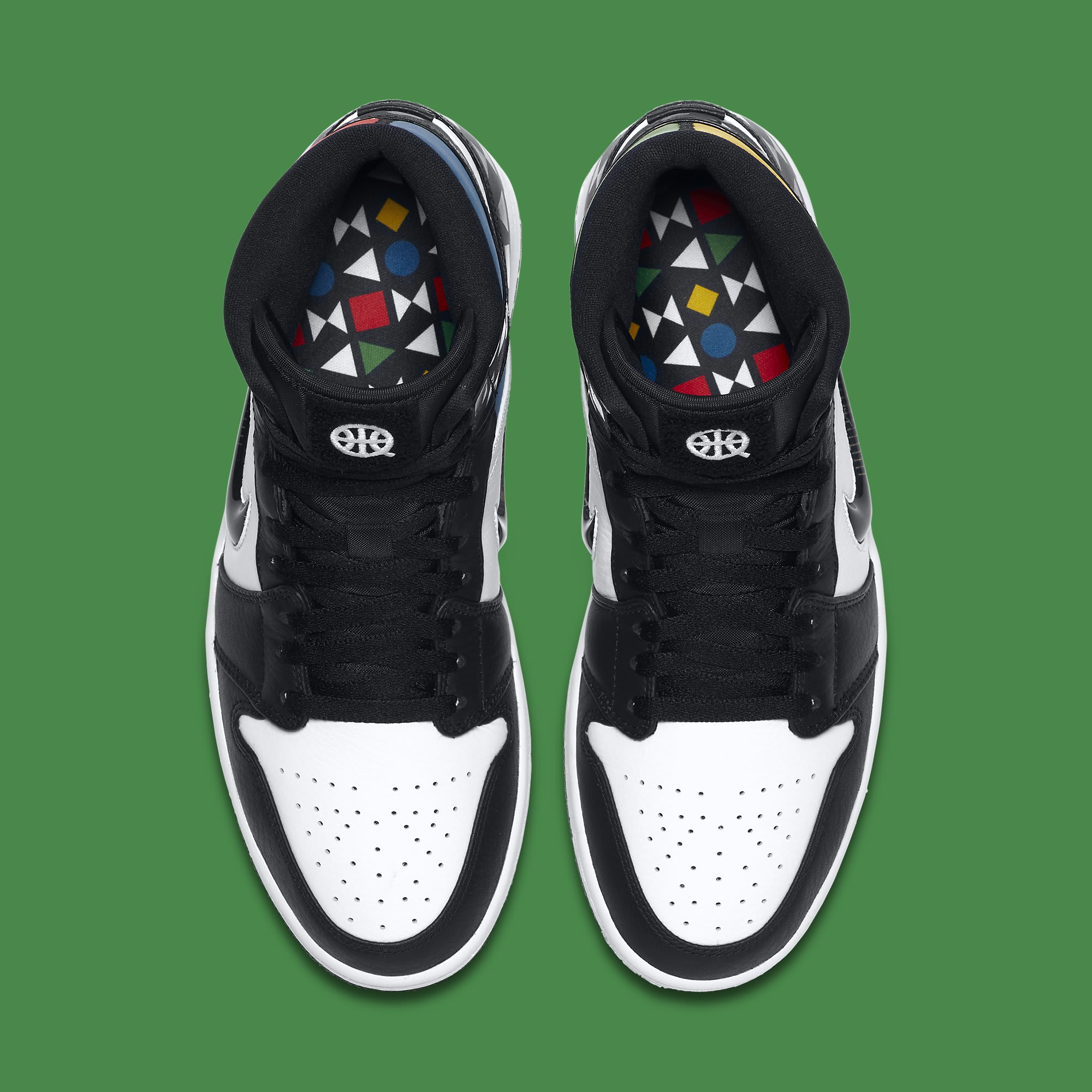 Air Jordan 1 Retro Mid 'Quai 54' CJ9219-001 Top