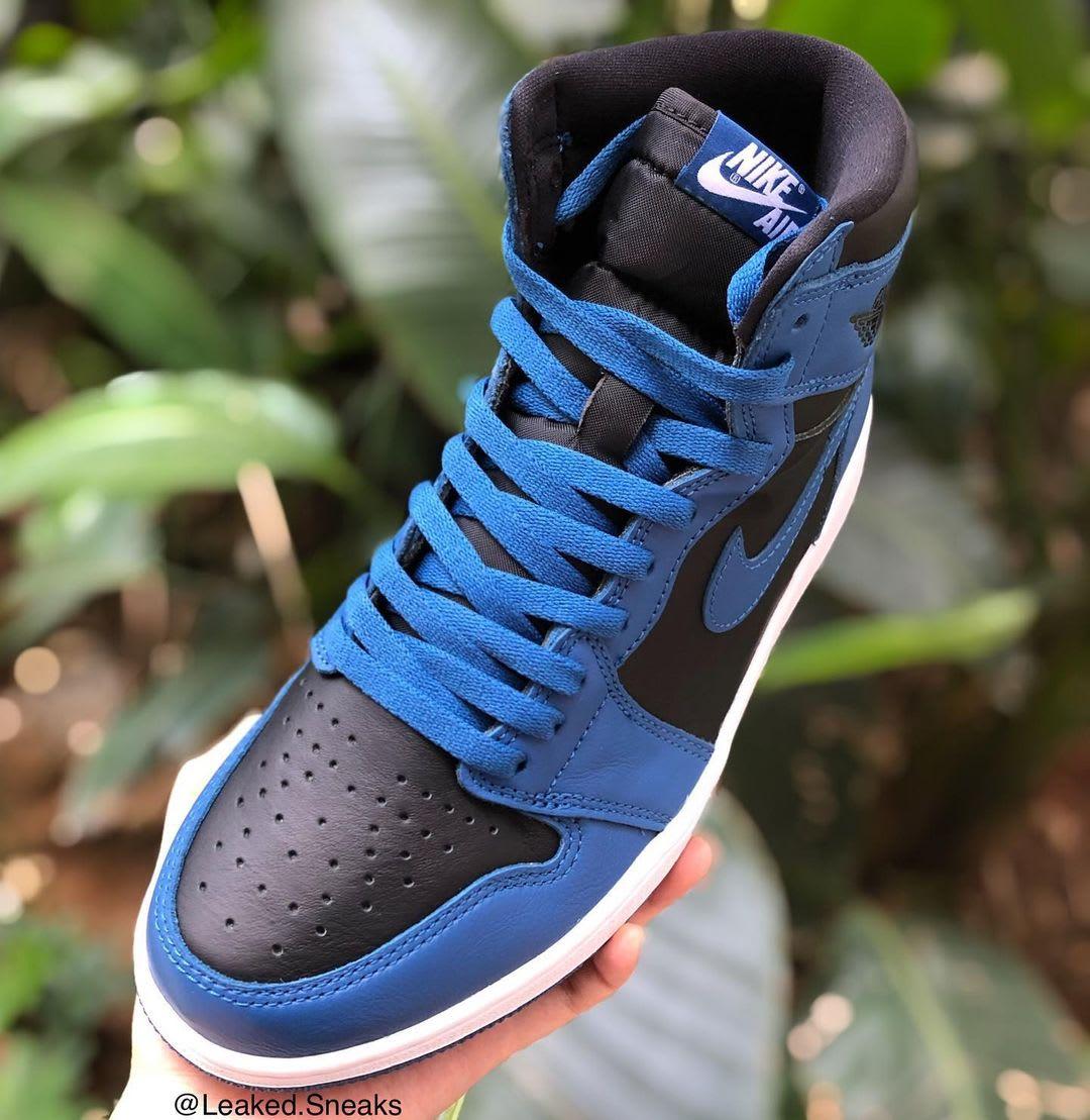 Air Jordan 1 High 'Marina Blue' 555088-404 Avant