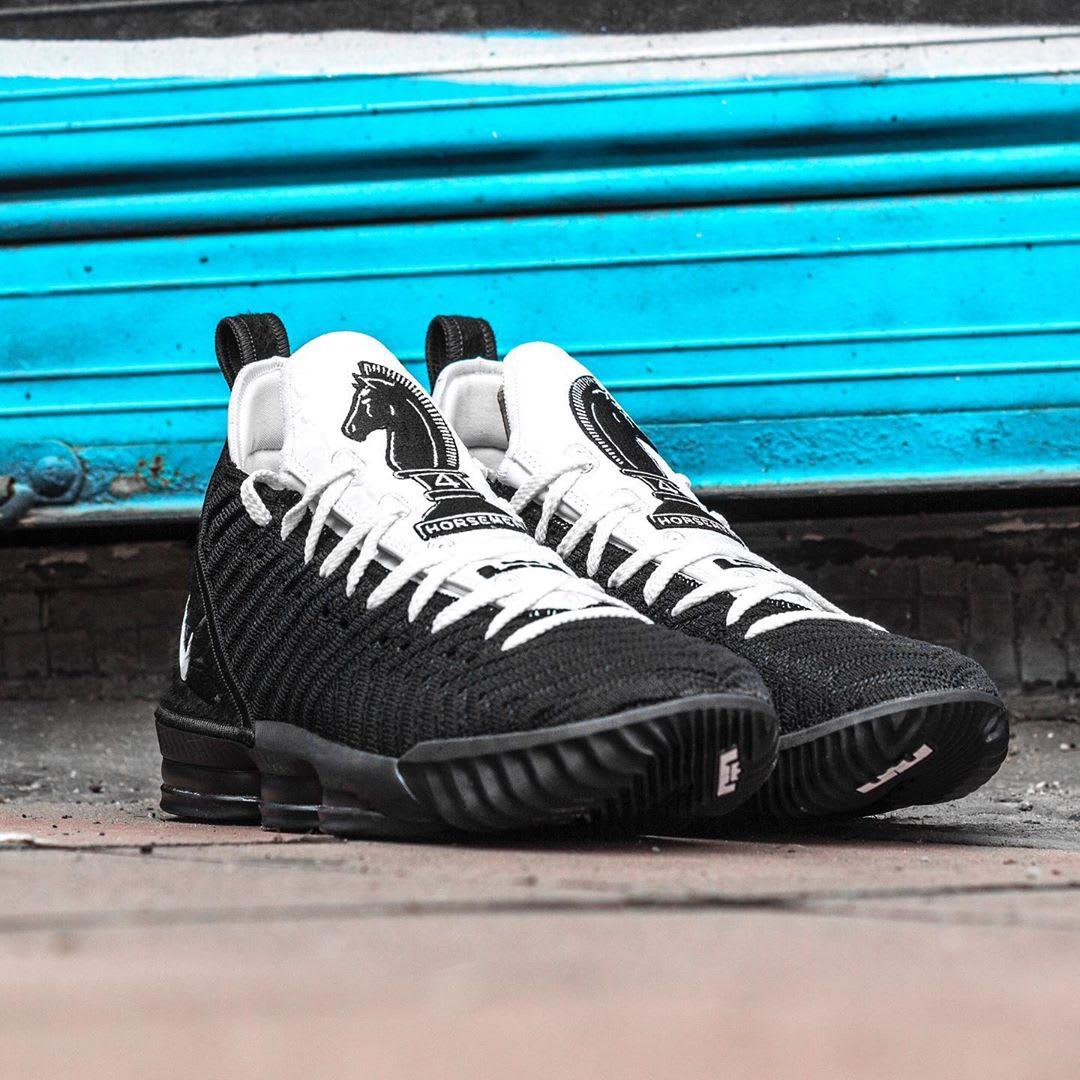 Nike LeBron 16 Four Horsemen Release Date CI7862-001 Pair