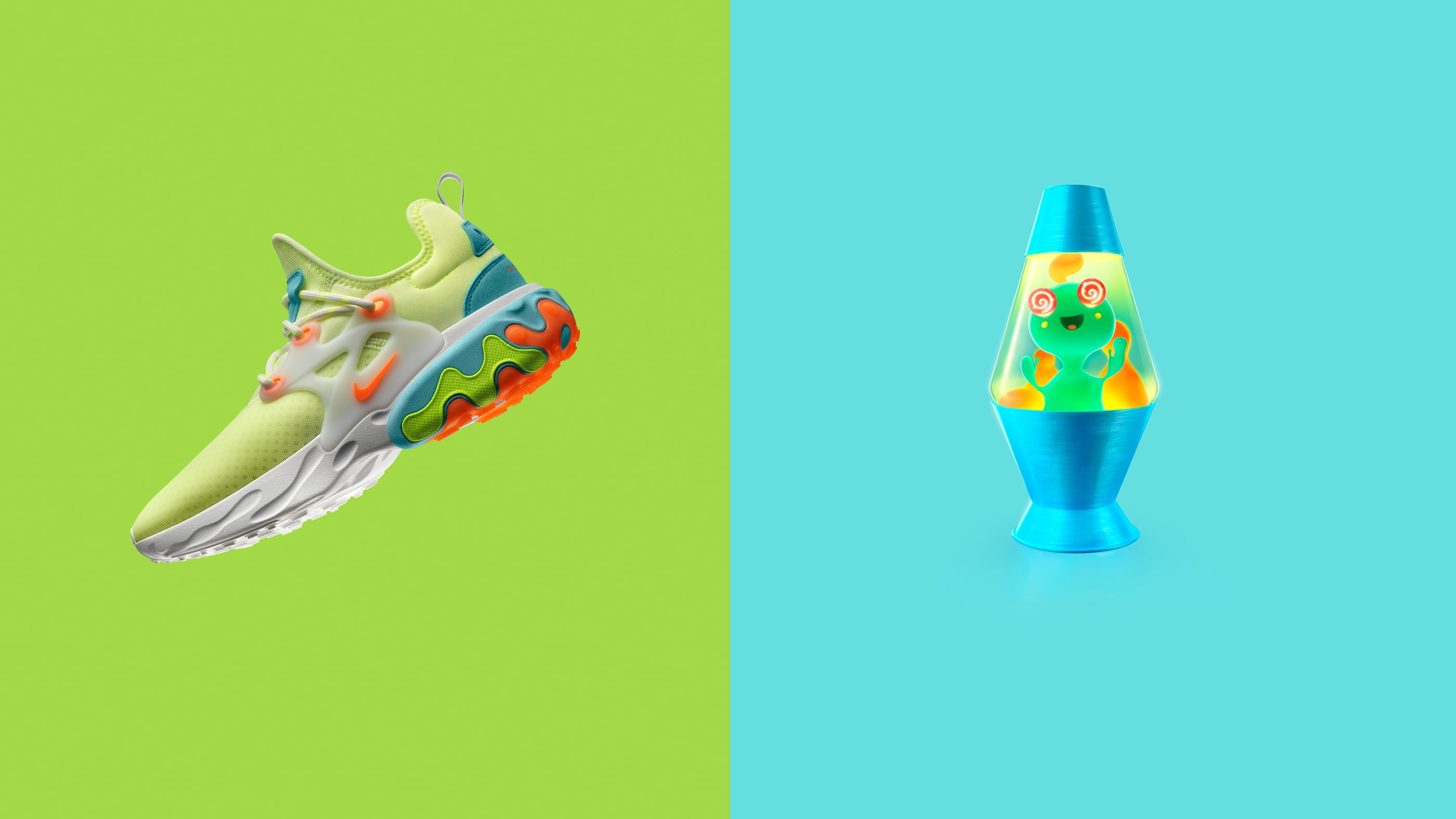 Nike React Presto 'Psychedelic Lava'