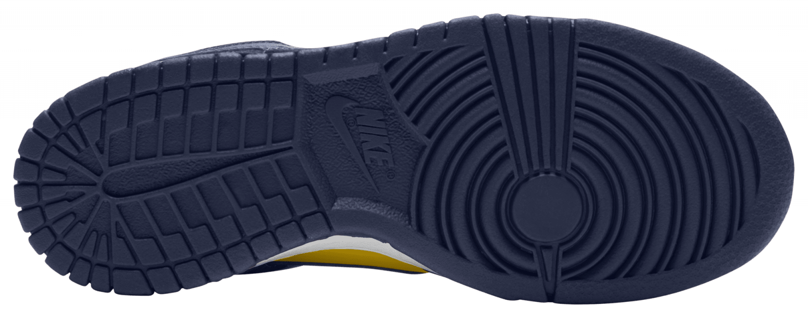 Nike Dunk Low GS 'Michigan' 2021 Outsole