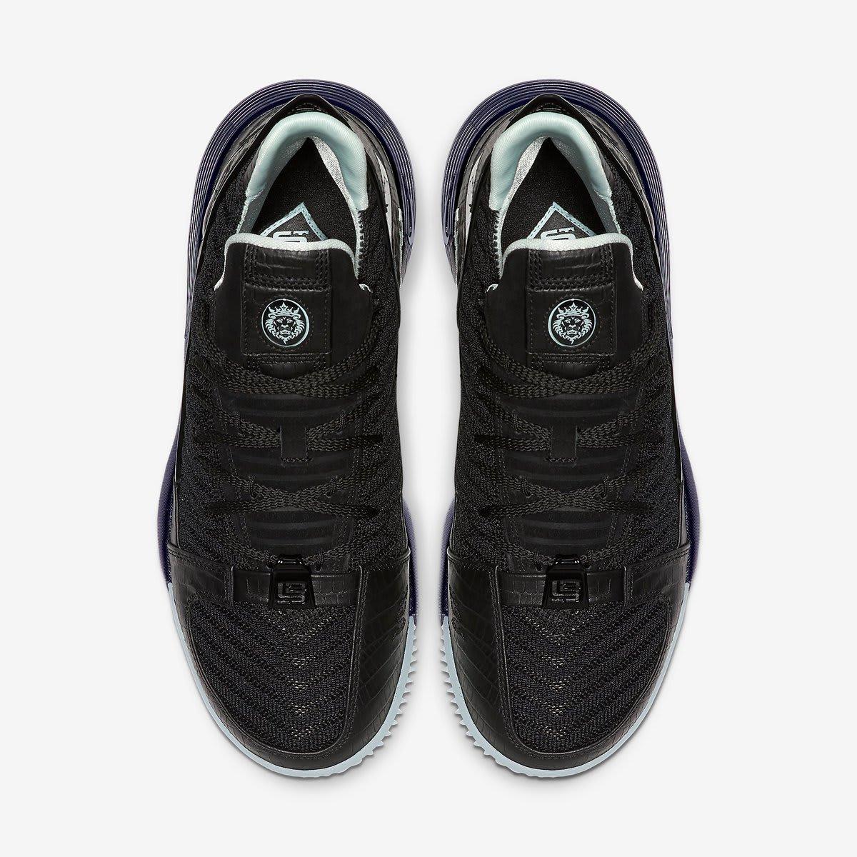 Nike LeBron 16 SB 'Black/Glow' (Top)
