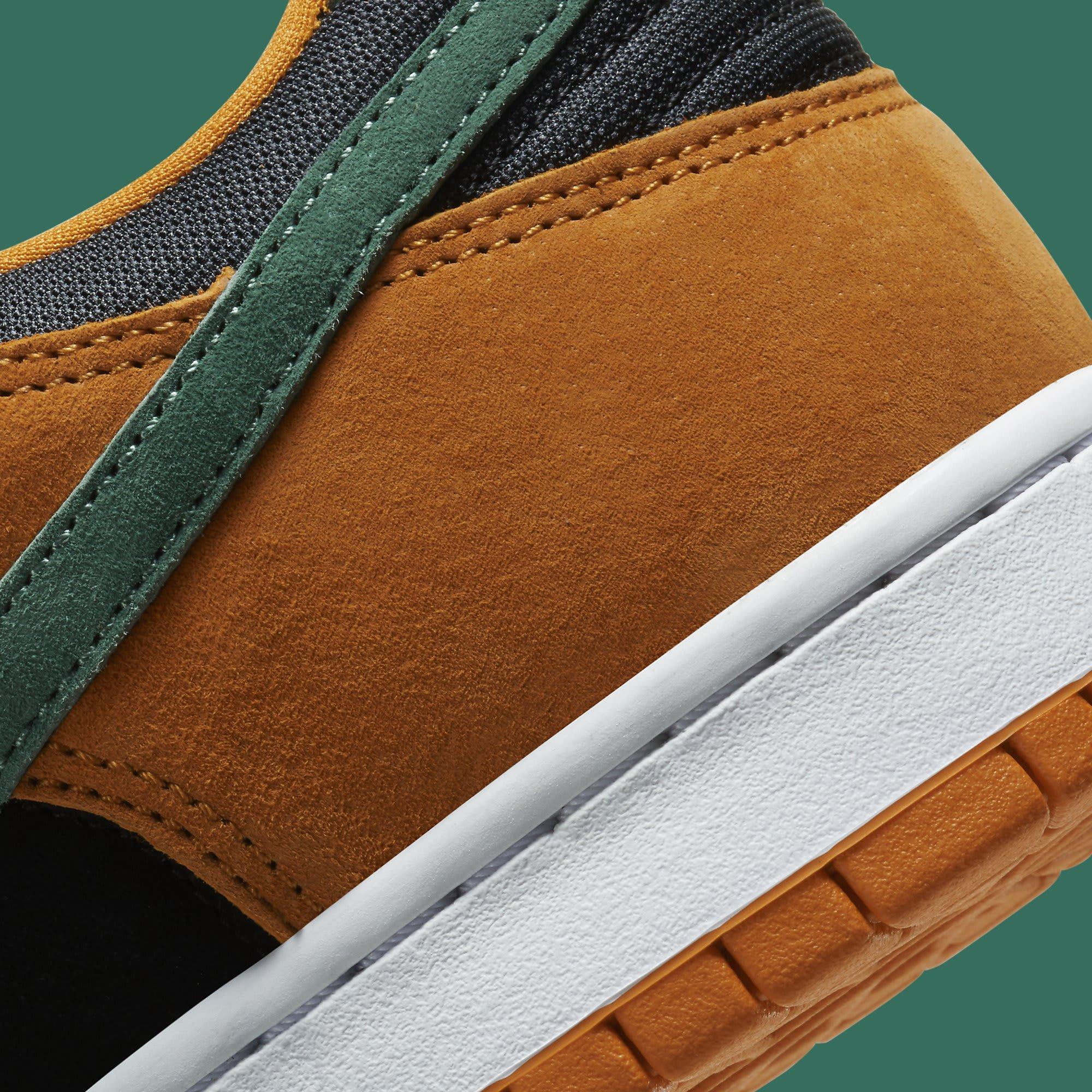 Nike Dunk Low Ceramic Release Date DA1469-001 Heel Detail