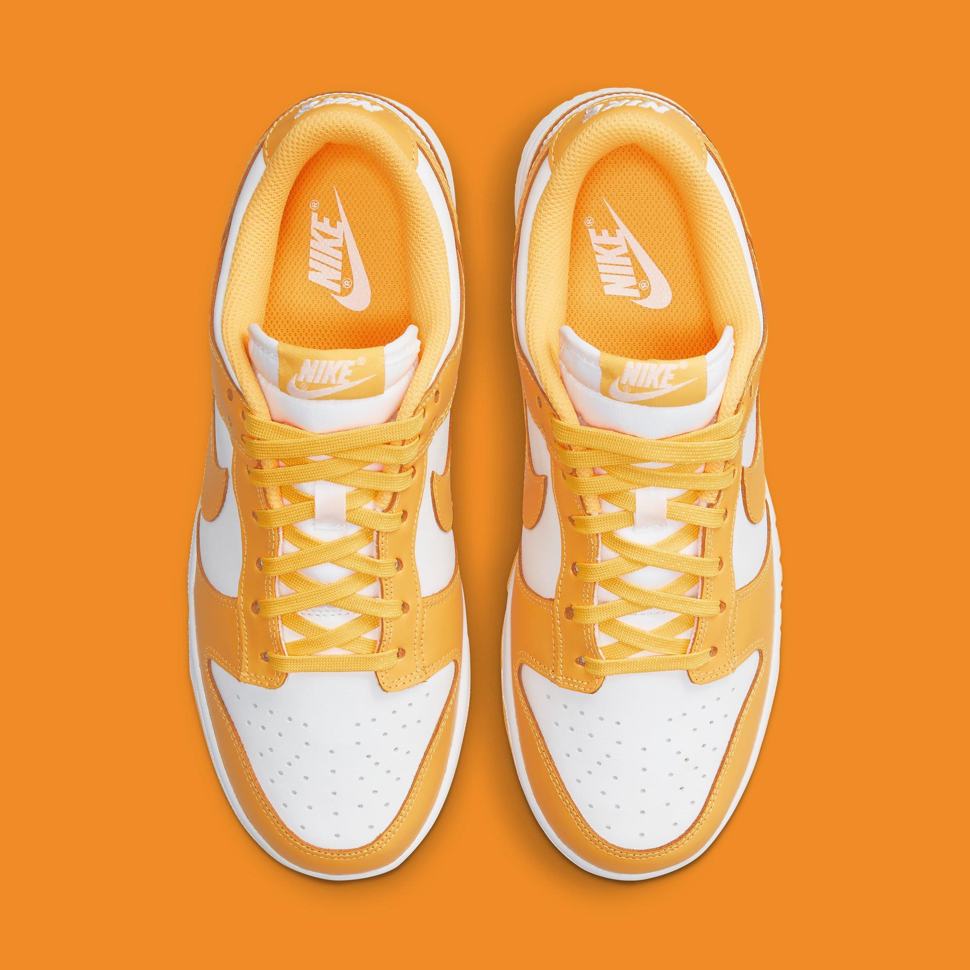 Nike Dunk Low Laser Orange Release Date DD1503-800 Top