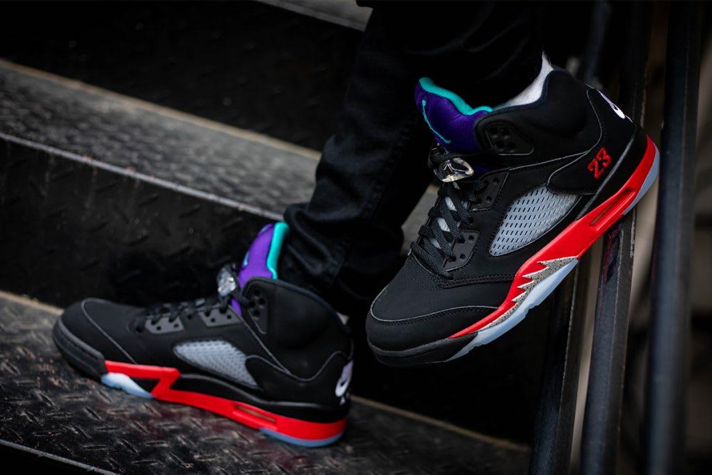 air Jordan 5 top 3 on foot