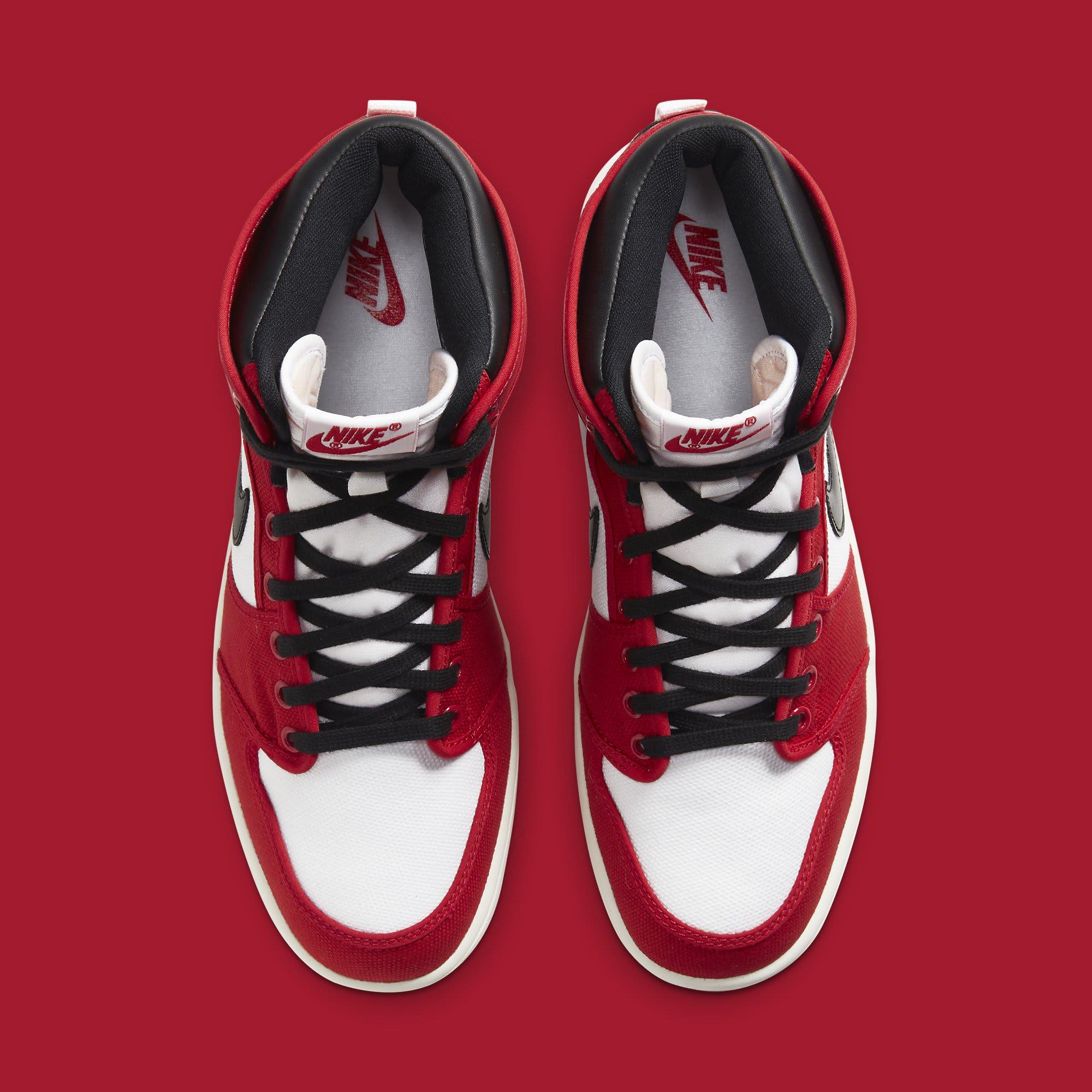 Air Jordan 1 KO Chicago 2021 Release Date DA9089-100 Top