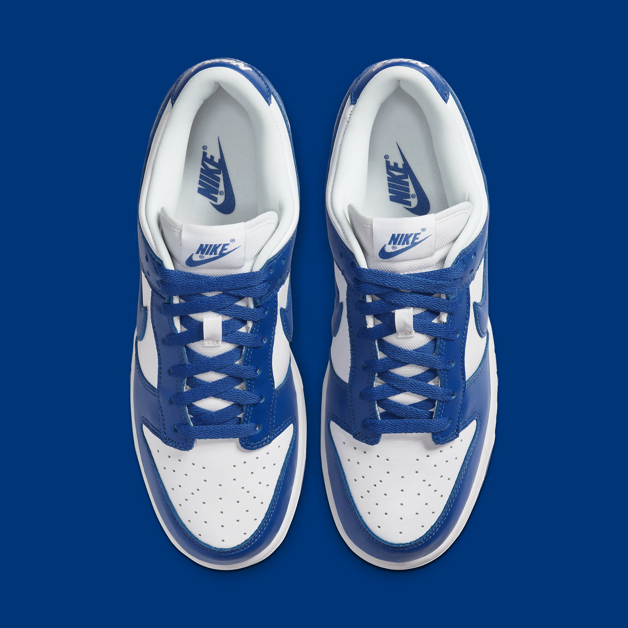 Nike Dunk Low Kentucky Release Date CU1726-100 Top
