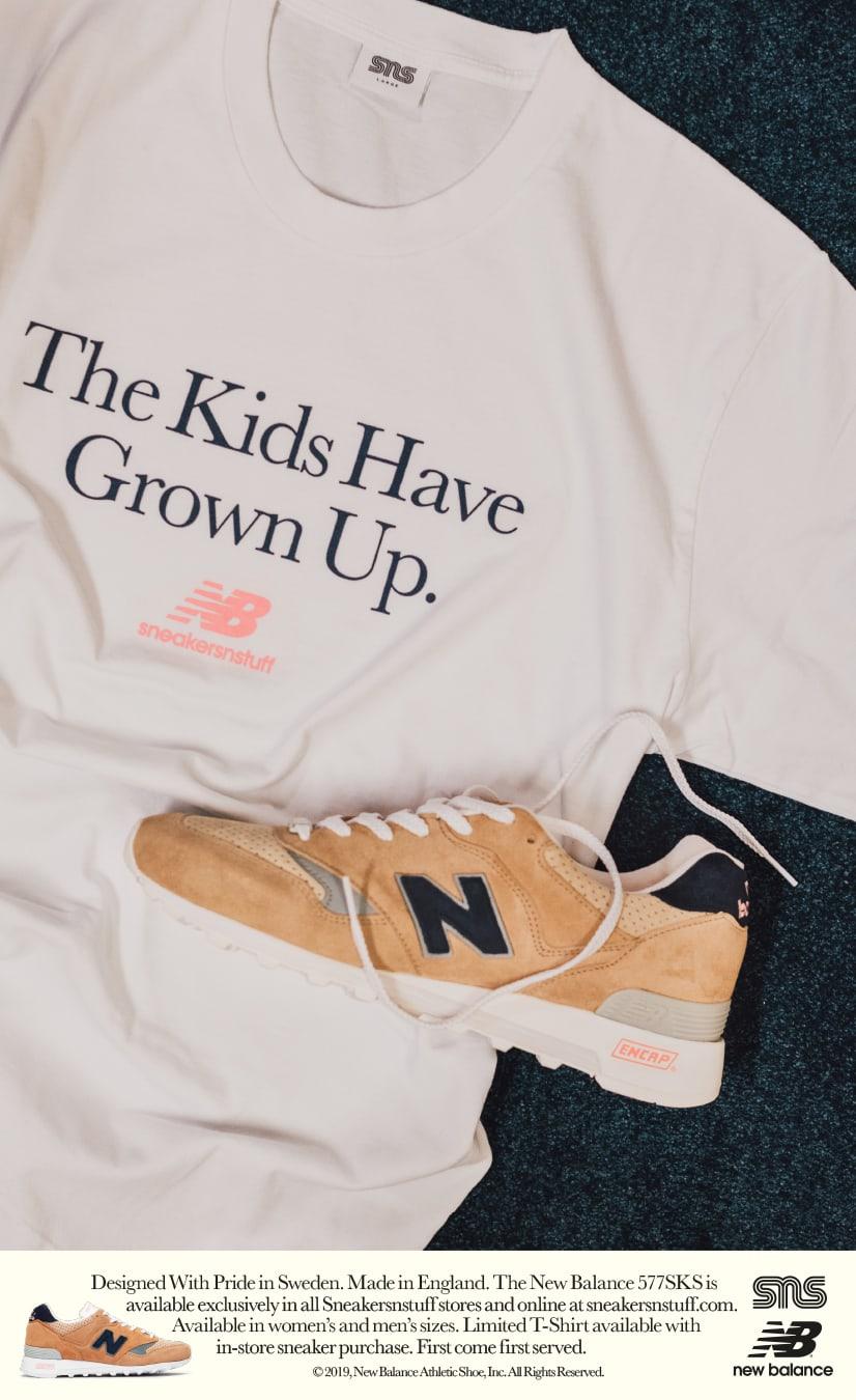 Sneakersnstuff x New Balance 577 (Shirt)