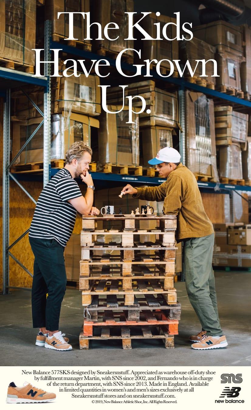 Sneakersnstuff x New Balance 577 (Martin and Fernando)