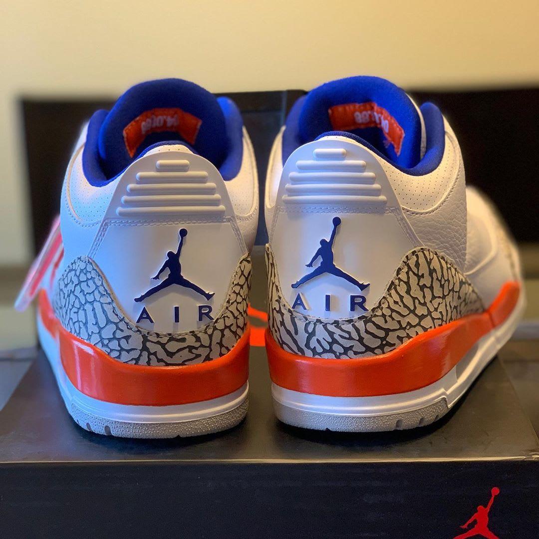 Air Jordan 3 'Knicks' (Heel)