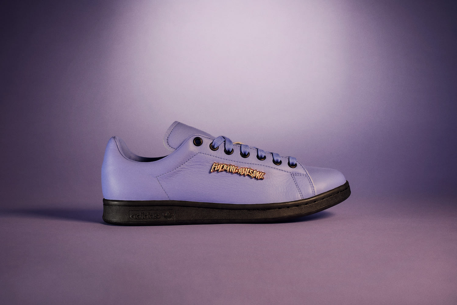 Fucking Awesome x Adidas Stan Smith (Purple Lateral)