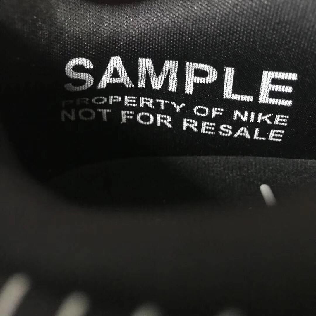 Nike Air Max 1 Schematic Black Release Date Sample Tag