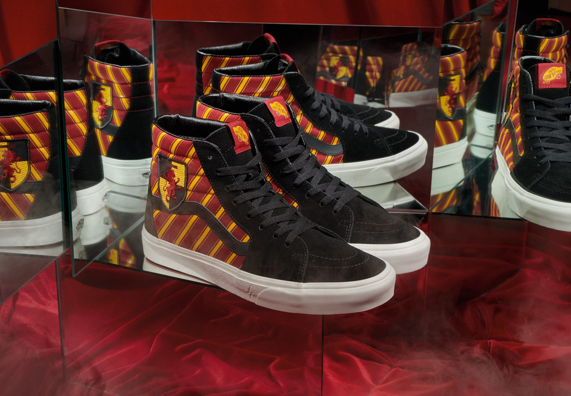 Harry Potter x Vans Sk8-Hi 'Gryffindor' (Pair)