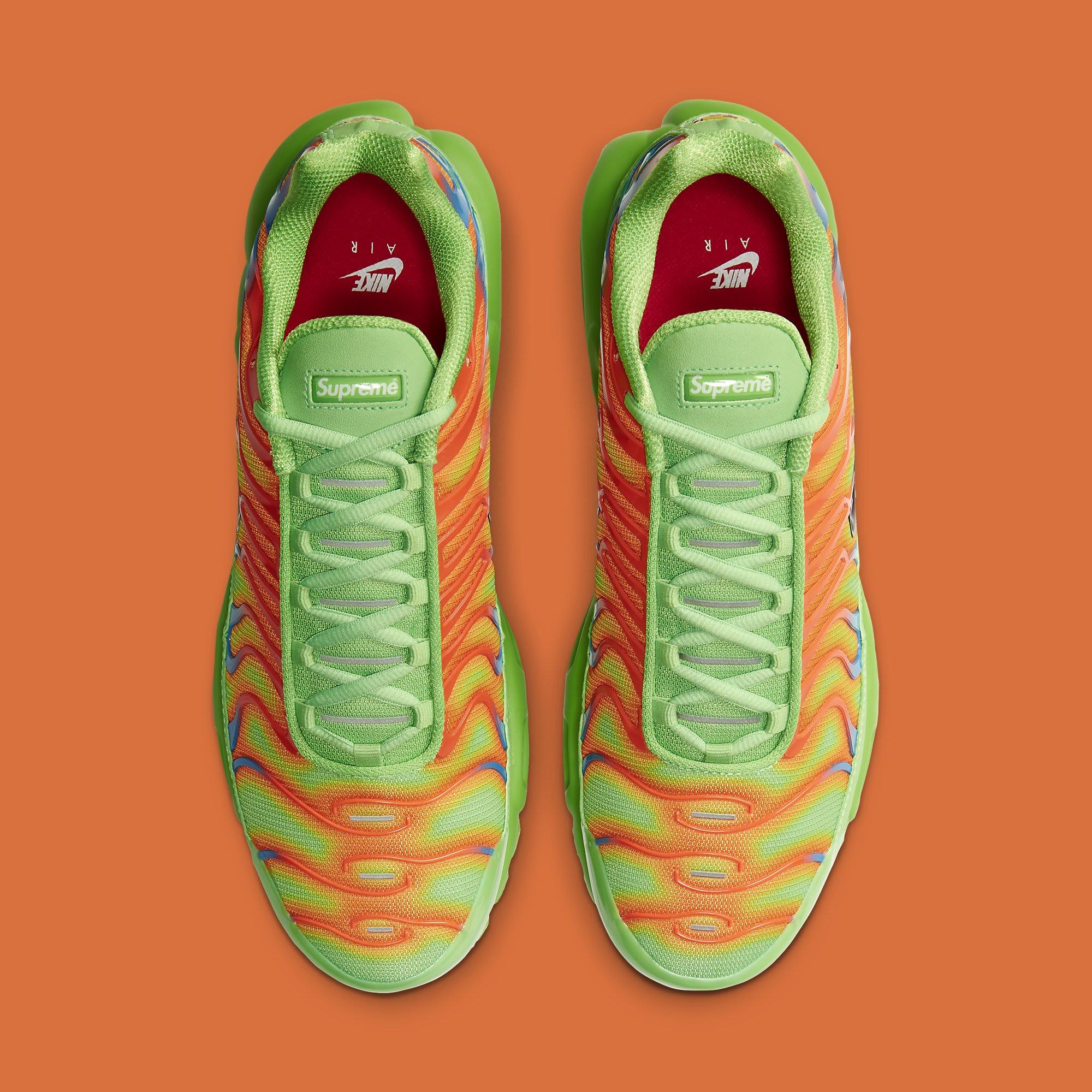 Supreme x Nike Air Max Plus 'Mean Green' DA1472-300 Top