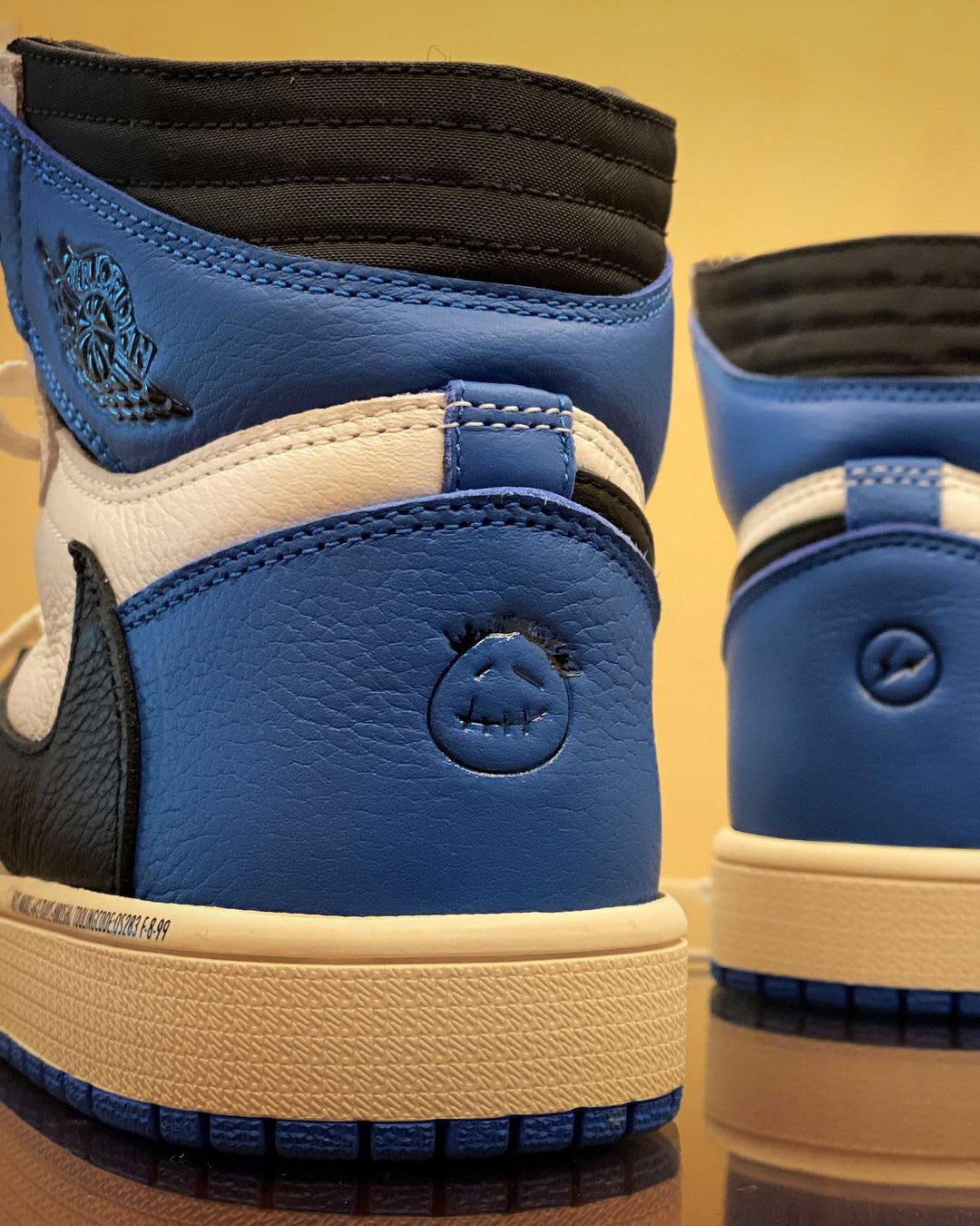 Fragment x Travis Scott x Air Jordan 1 High Sample