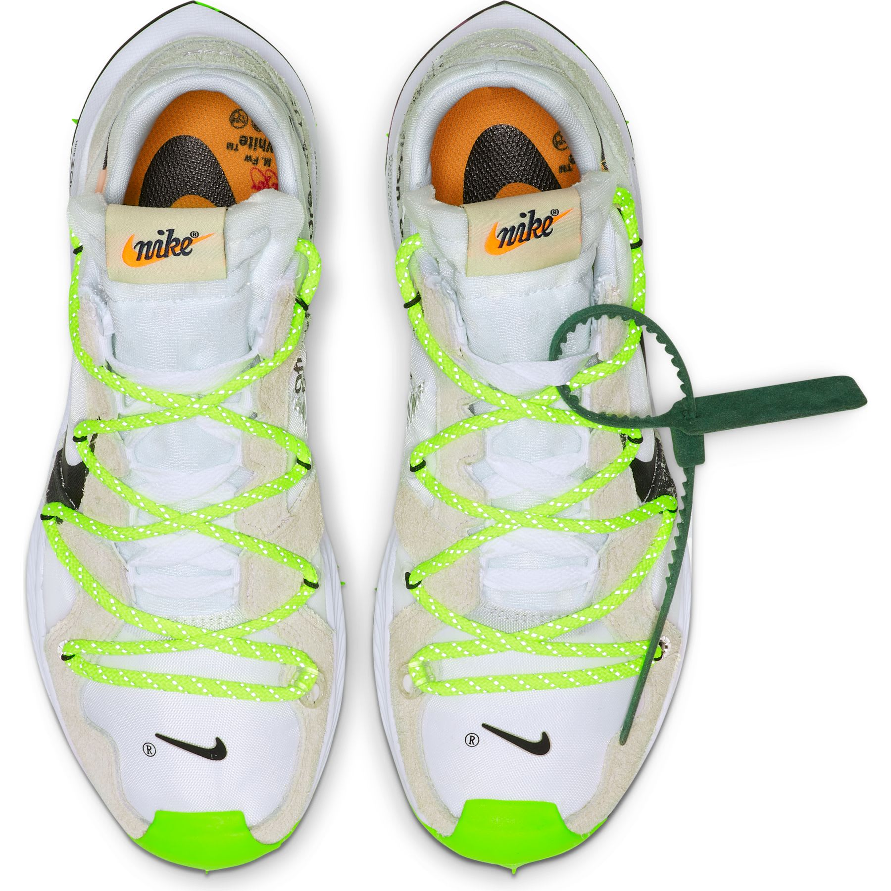 nice cheap recognized brands official Off-White x Nike Zoom Terra Kiger 5 CD8179-001 CD8179-100 ...