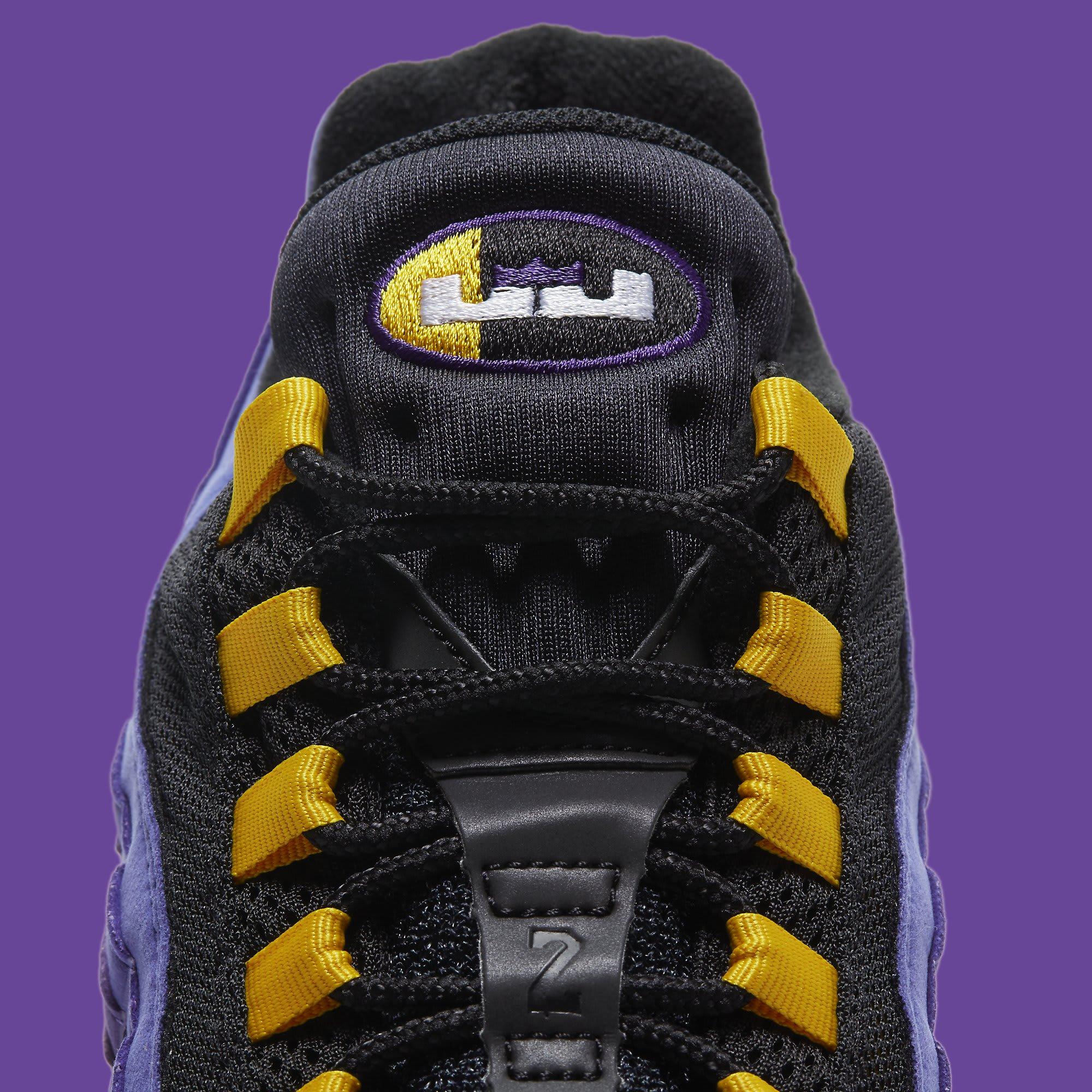 Nike Air Max 95 'LeBron' CZ3624-001 Tongue