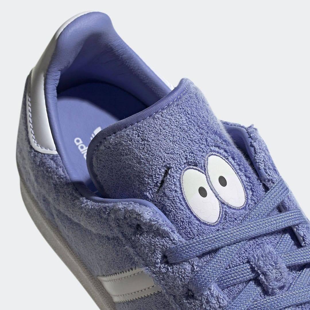 South Park x Adidas Campus 80s Towelie GZ9177 (Tongue)