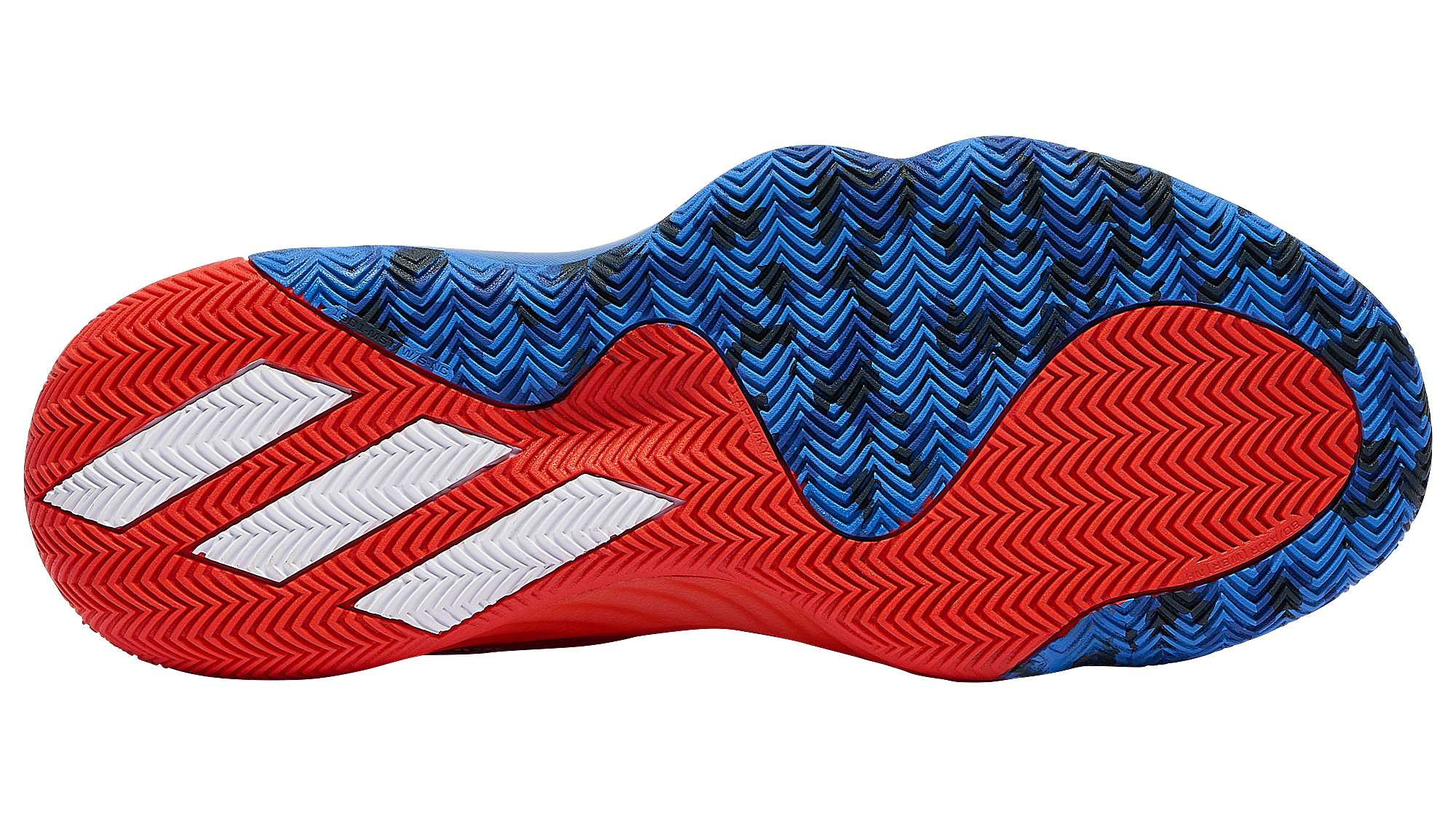 Adidas D.O.N. Issue 1 Blue Red White Release Date EF2400 Sole