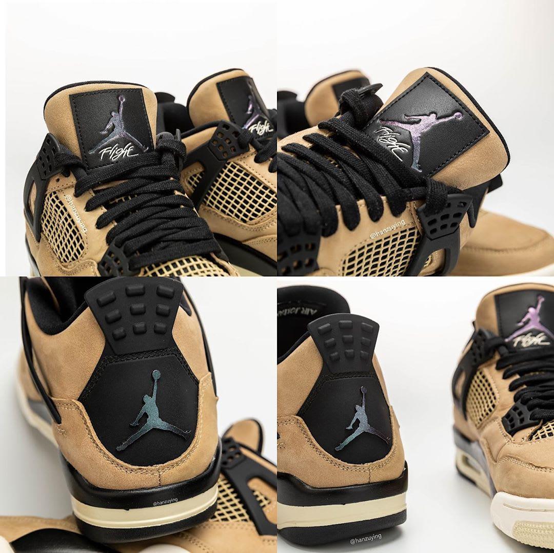 check out 26cec 65231 WMNS Air Jordan 4 'Mushroom'AQ9129-200 Release Date | Sole ...