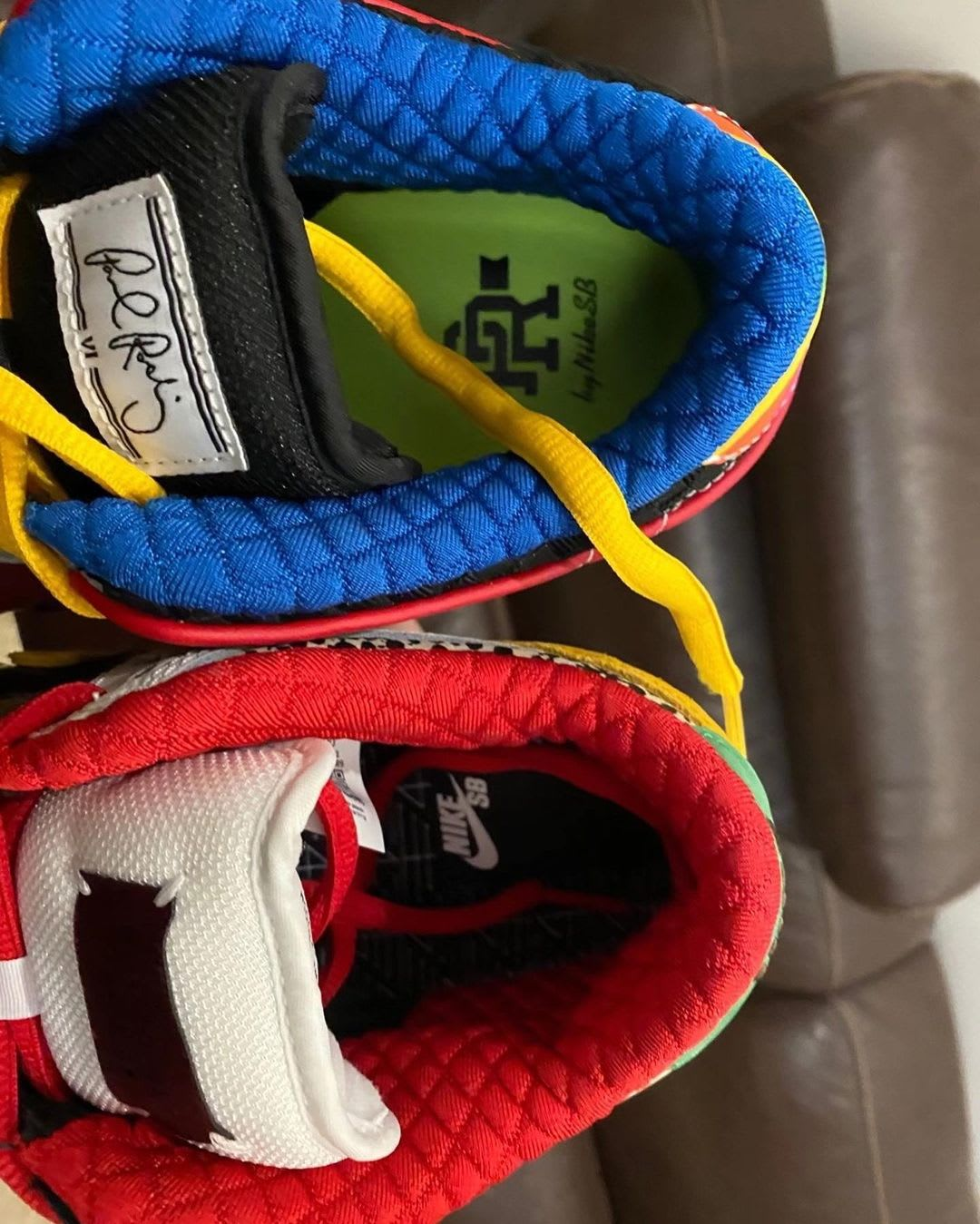 Nike SB Dunk Low What The PRod Release Date Lining