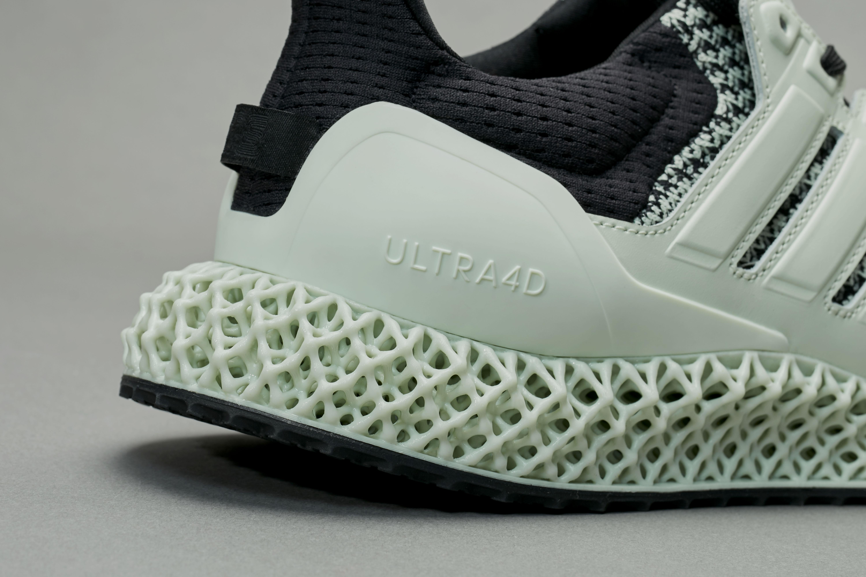 Sneakersnstuff x Adidas Ultra 4D 'Green Teatime' Heel