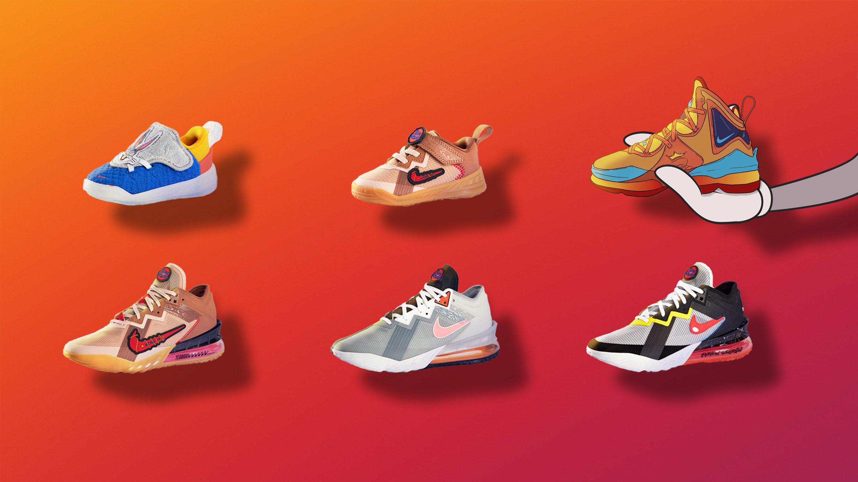 Nike LeBron 18 Low Space Jam: A New Legacy Collection