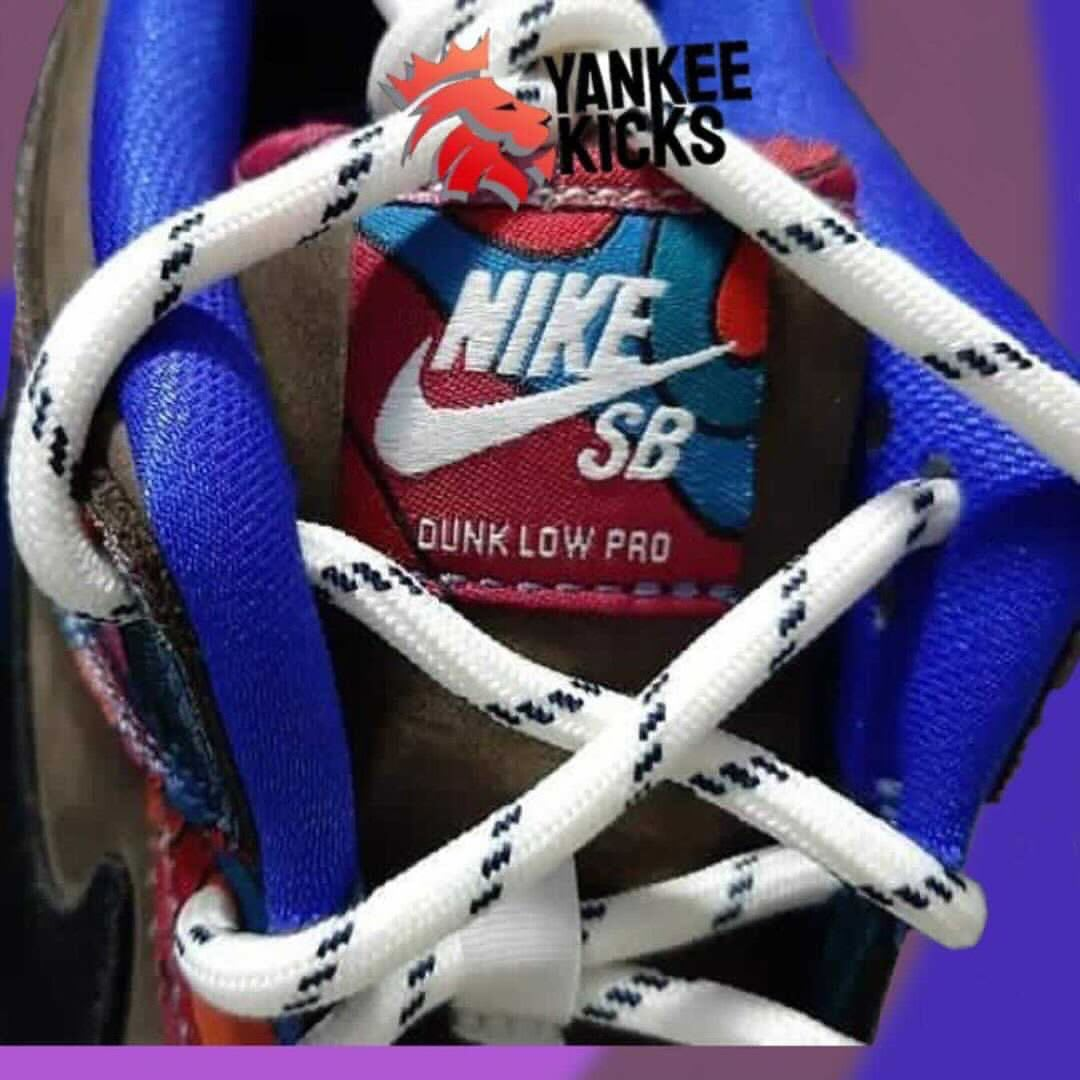 Parra x Nike SB Dunk Low 2021 Tongue