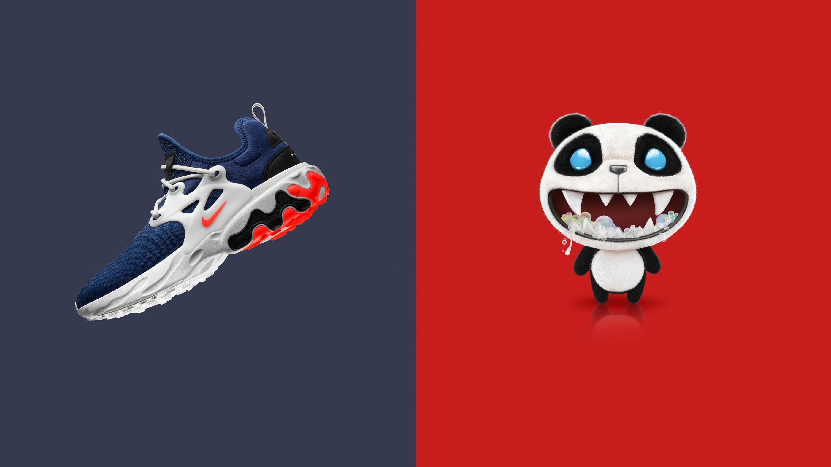 Nike React Presto 'Rabid Panda'