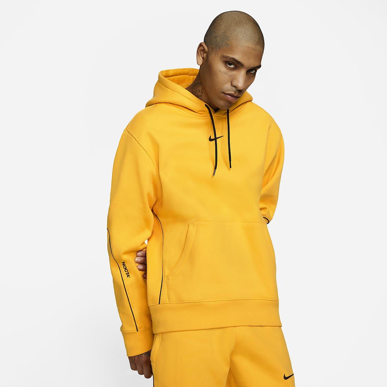 Drake Nike NOCTA University Gold Hoodie