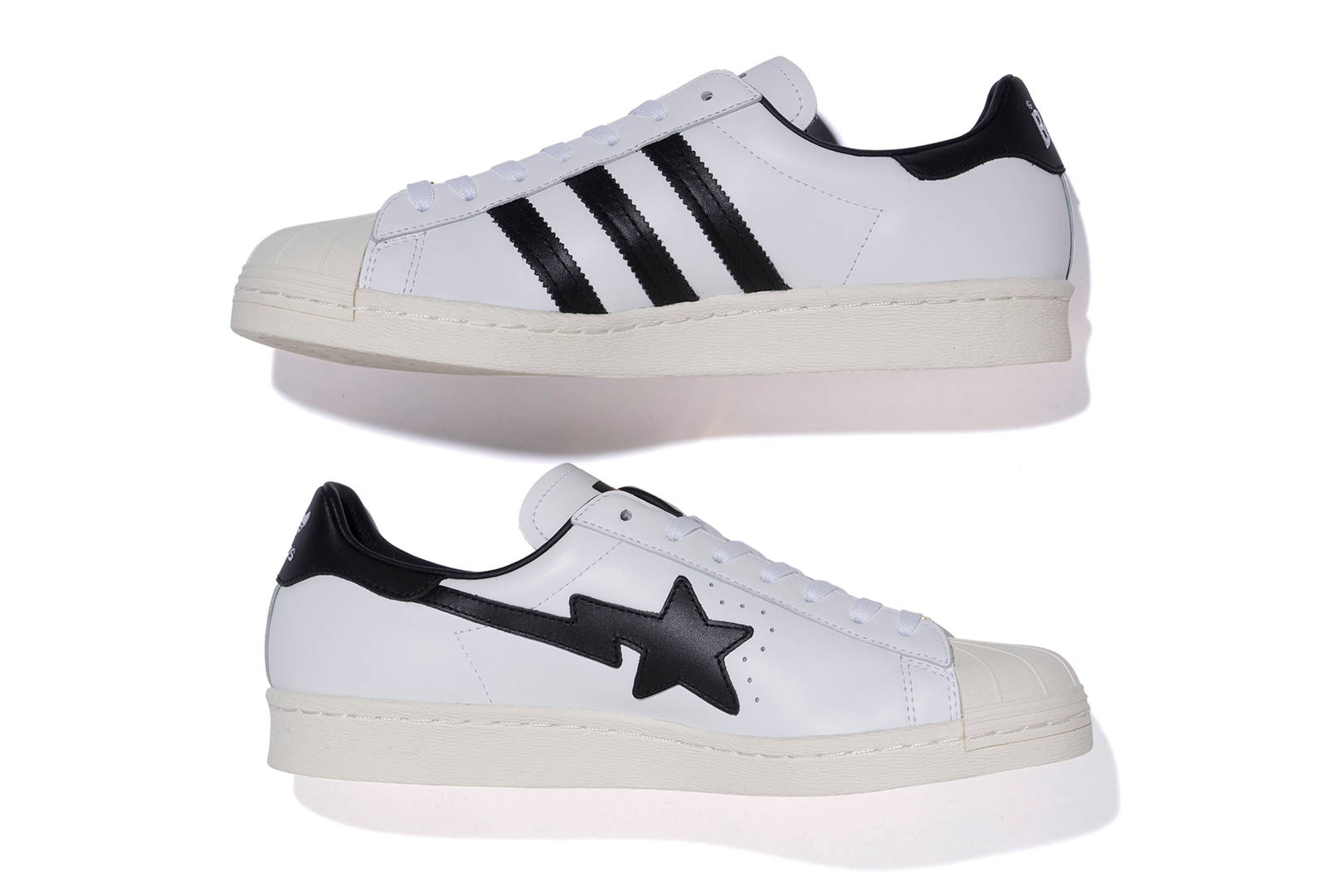Bape x Adidas Originals Superstar Medial
