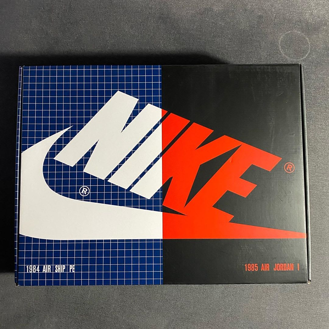 Nike Air Ship PE x Air Jordan 1 Pack (Box)
