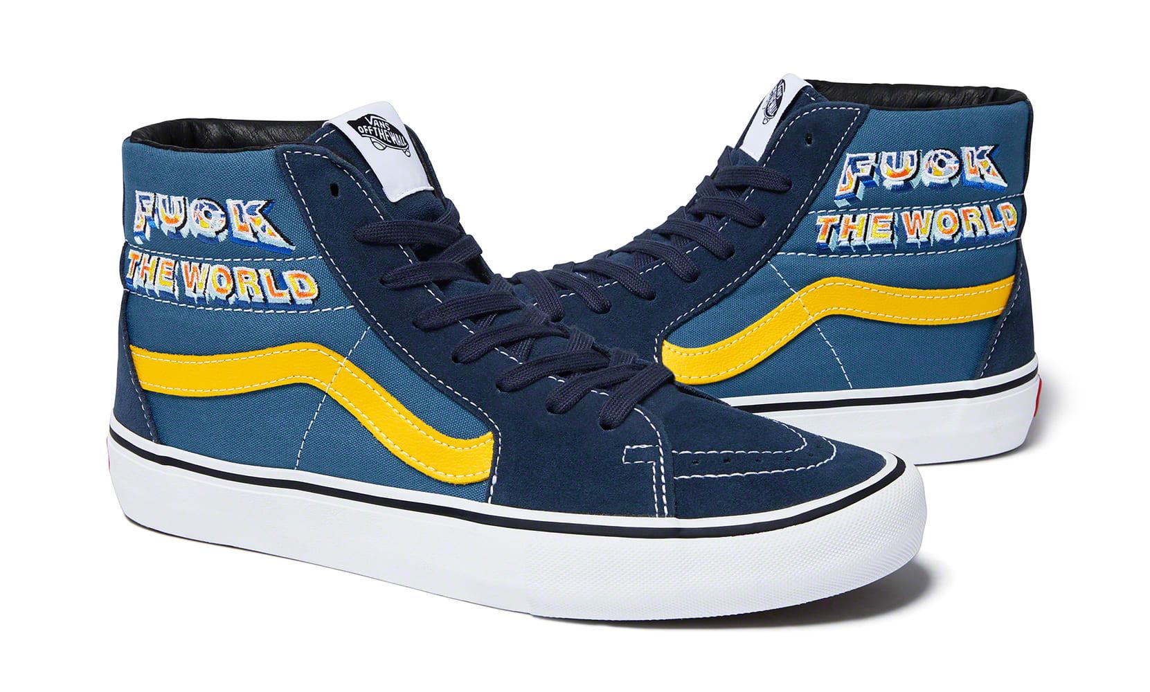 supreme-vans-sk8-hi-fuck-the-world-fw-2019-blue-yellow